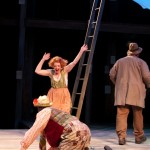 As Audrey with Joe Marcell in As You Like It, directed by Adrian Noble at The Old Globe.