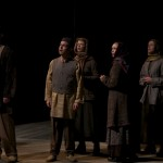 With Dan Amboyer, Jonathan Spivey, Stephanie Roetzel and Rachael Jenison as Citizens in Richard III at The Old Globe,directed by Lindsay Posner. (Photo by Clancy Steer)