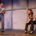 As Marty with Rajesh Bose as Art in the world premiere of In Flight: A New Play In Versedirected by Jessica Baumanat Turn To Flesh Productions